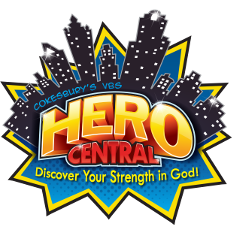 Cokesbury's Hero Central - Discover Your Strength in God!